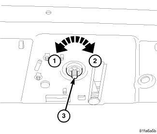 Caution Manual Operation Of The Header Latching Mechanism Will Result In Damage To Motor When This Occurs Both Embly And