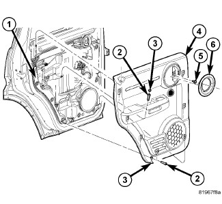 i have a 2007 dodge nitro slt and i am trying to upgrade my stock Car Door Latch Schematic removal