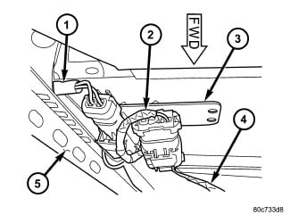 21v8p Replace Drivers Side Seat Belt 2006 3 5l