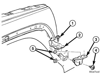 2006 jeep liberty diagrams on how the front end body parts bumper 2004 Jeep Liberty Radiator full size image