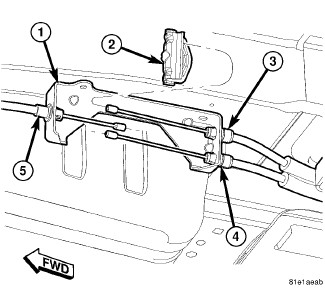 How To Remove Cable From A Bracket 2008 Chrysler Sebring