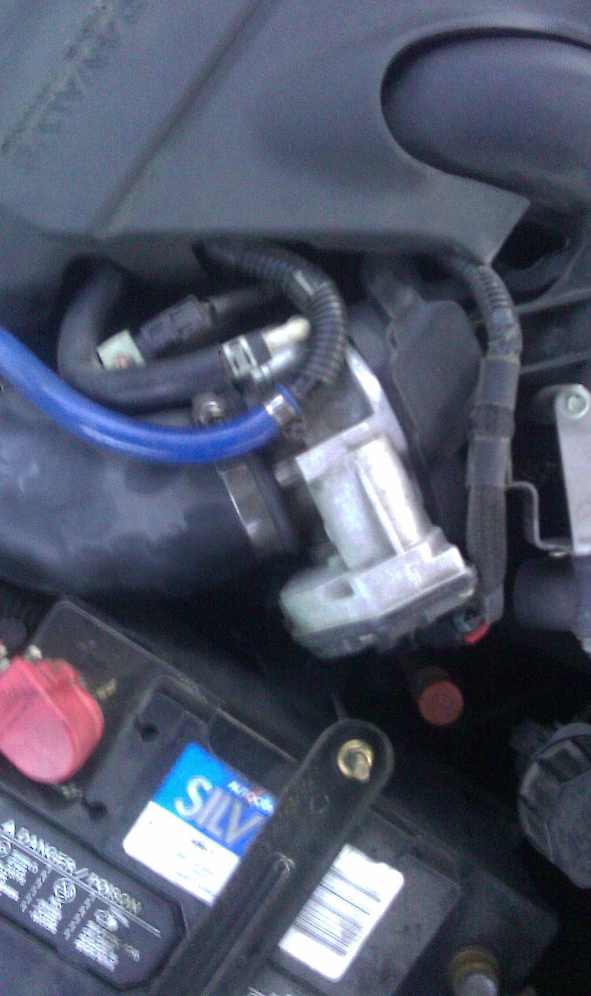 Mazda 6 check engine light on with P0171 code