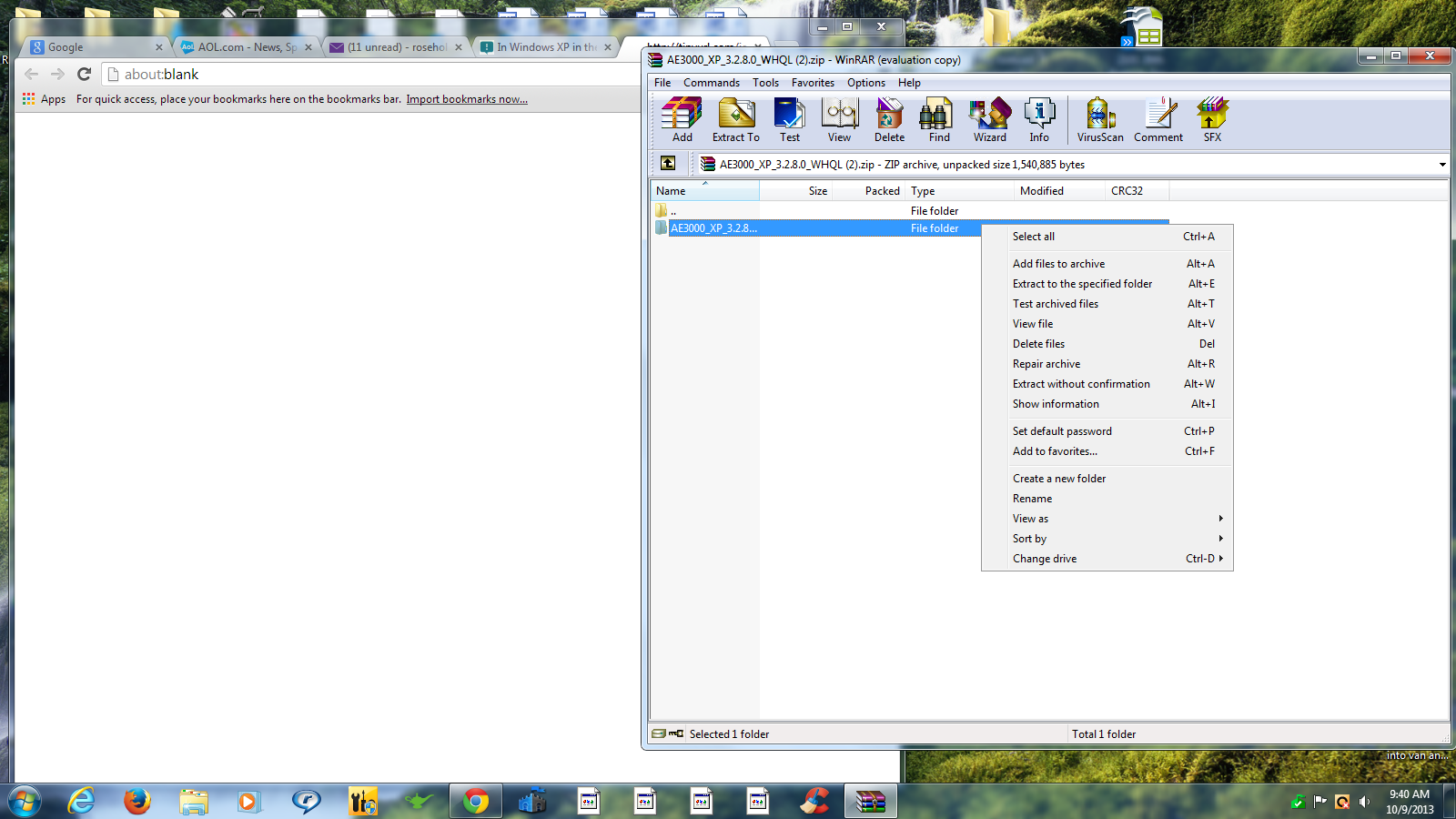 In Windows XP in the Systems Properties under the General heading it