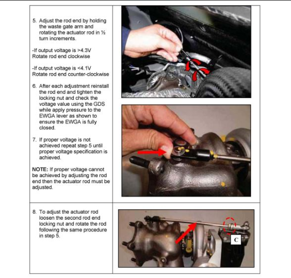 2011 hyundai sonata turbo wastegate adjustment