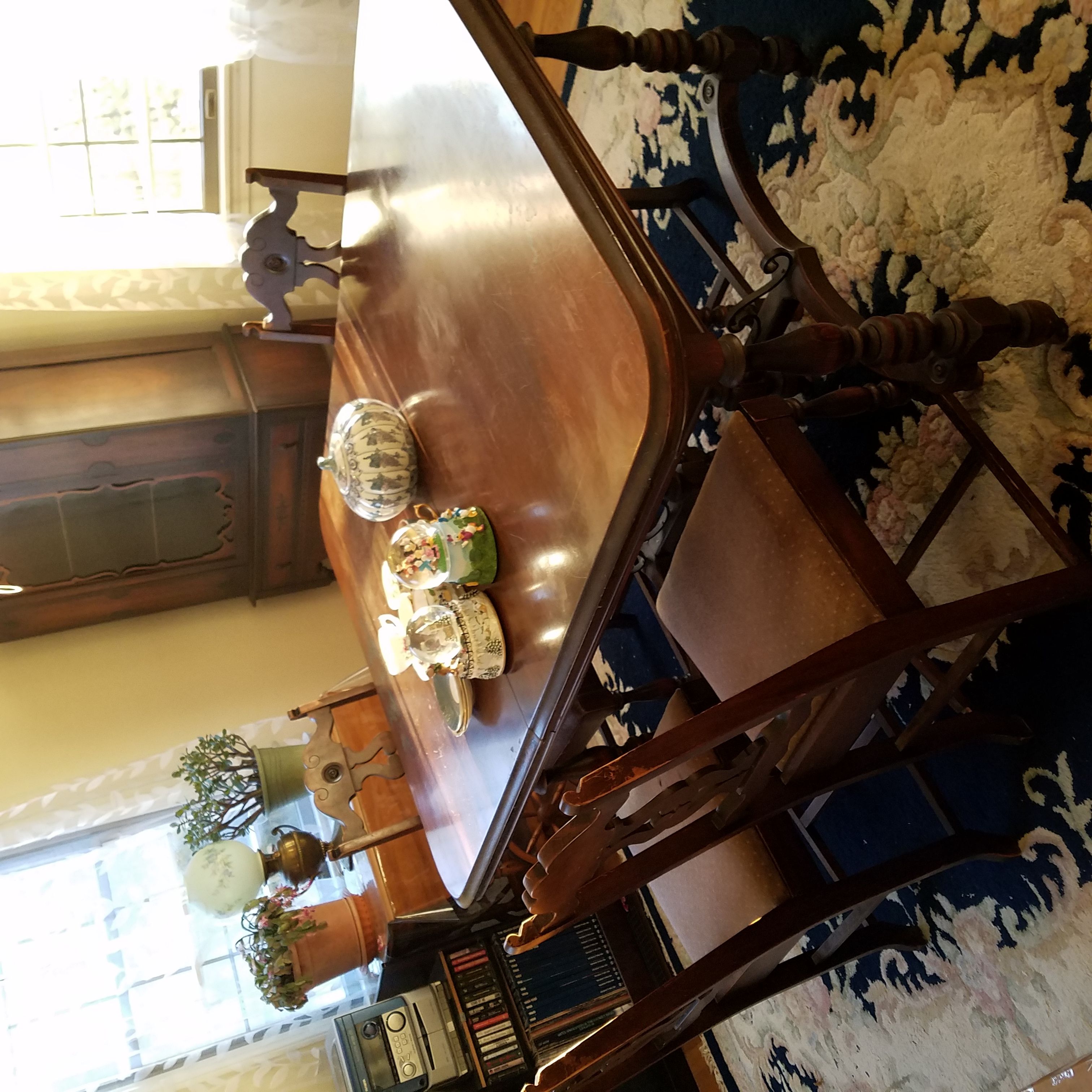 Dining Room Manufacturers: I Have A Tomlinson Chair Manufacturing Co Dining Room Set
