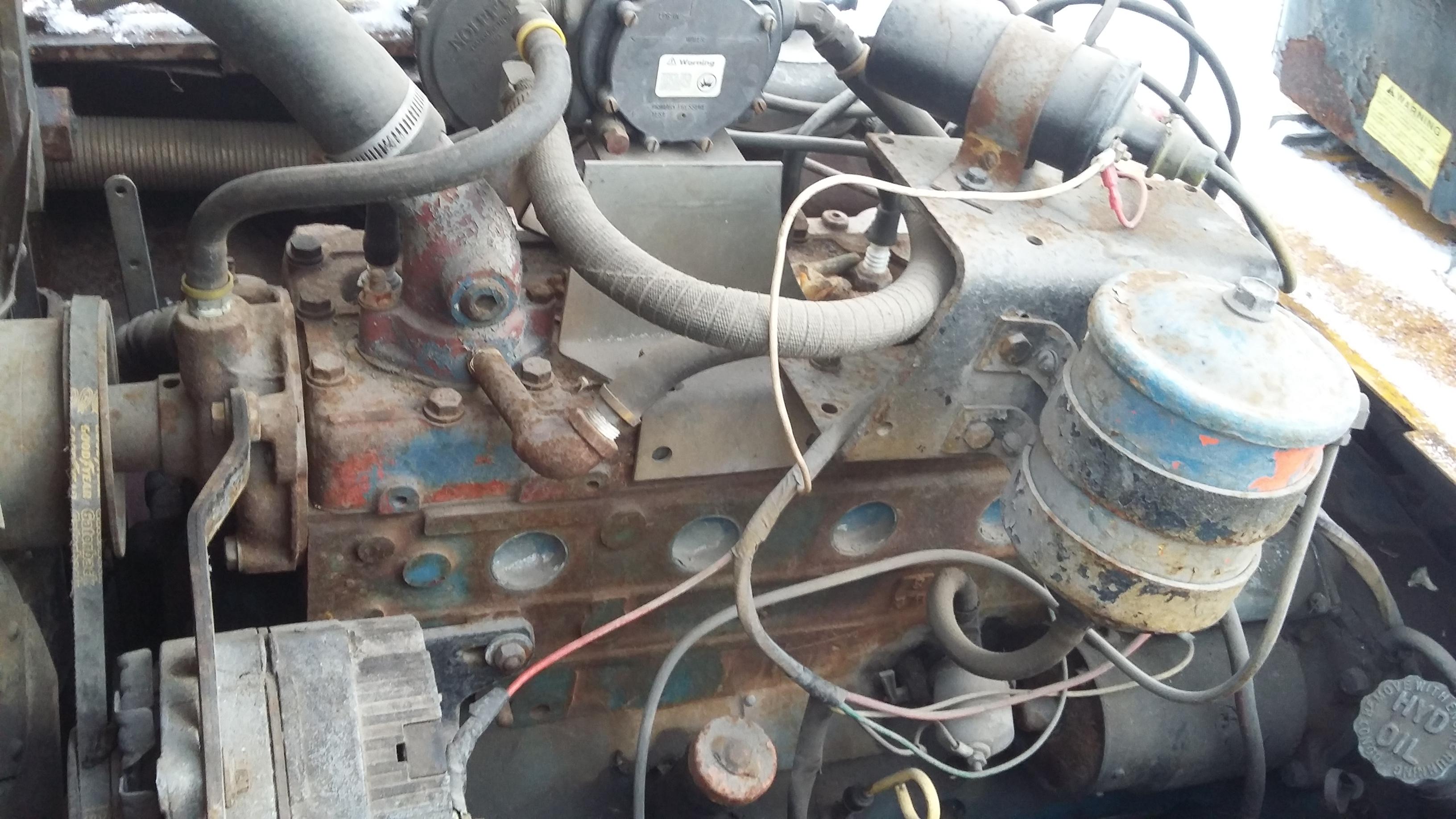 I have an old forklift hyster model H80C serial C5D 3639 H itis