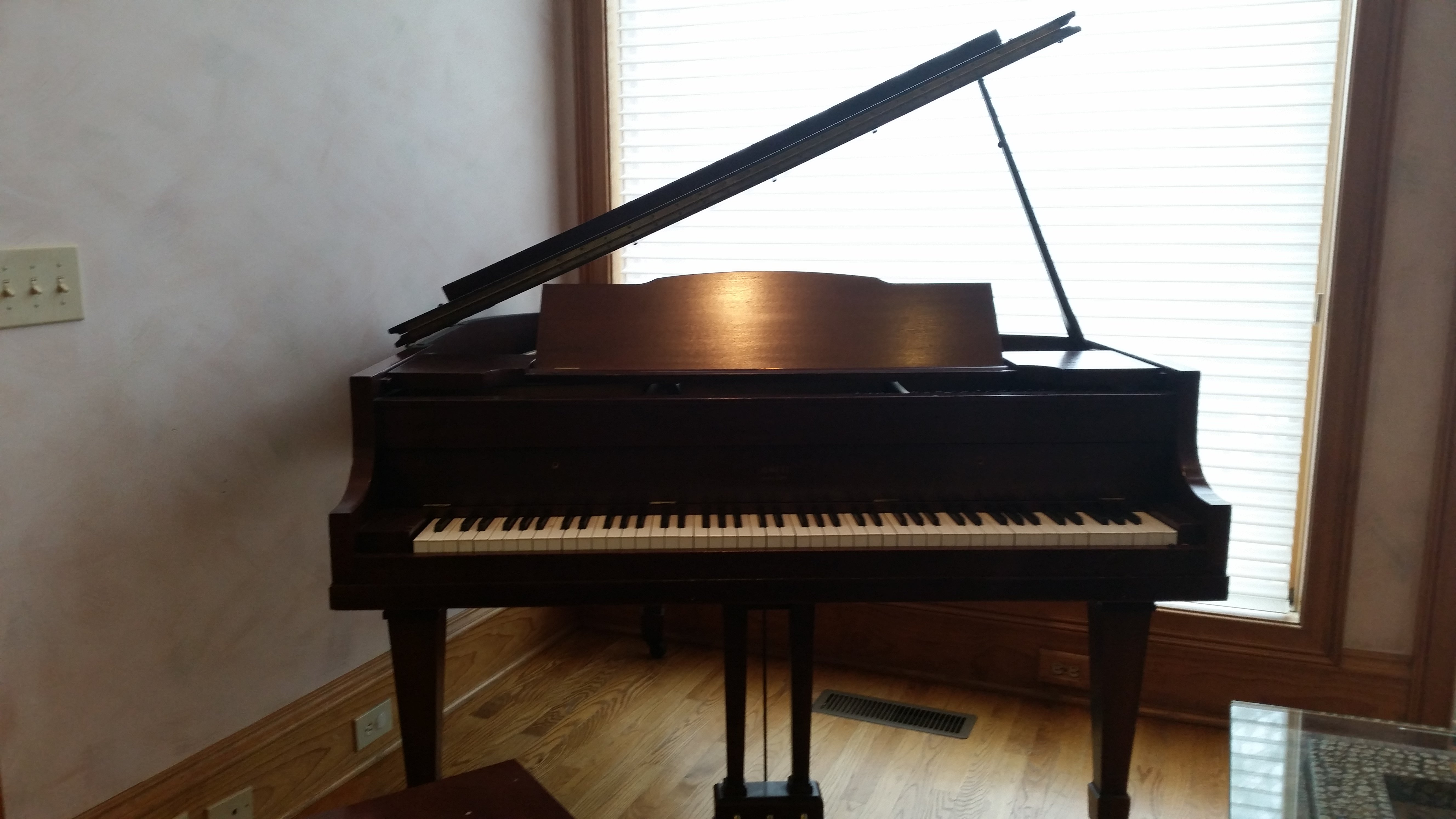 I Have A Jewett Baby Grand Piano Serial Number 1001 It Is Over 40