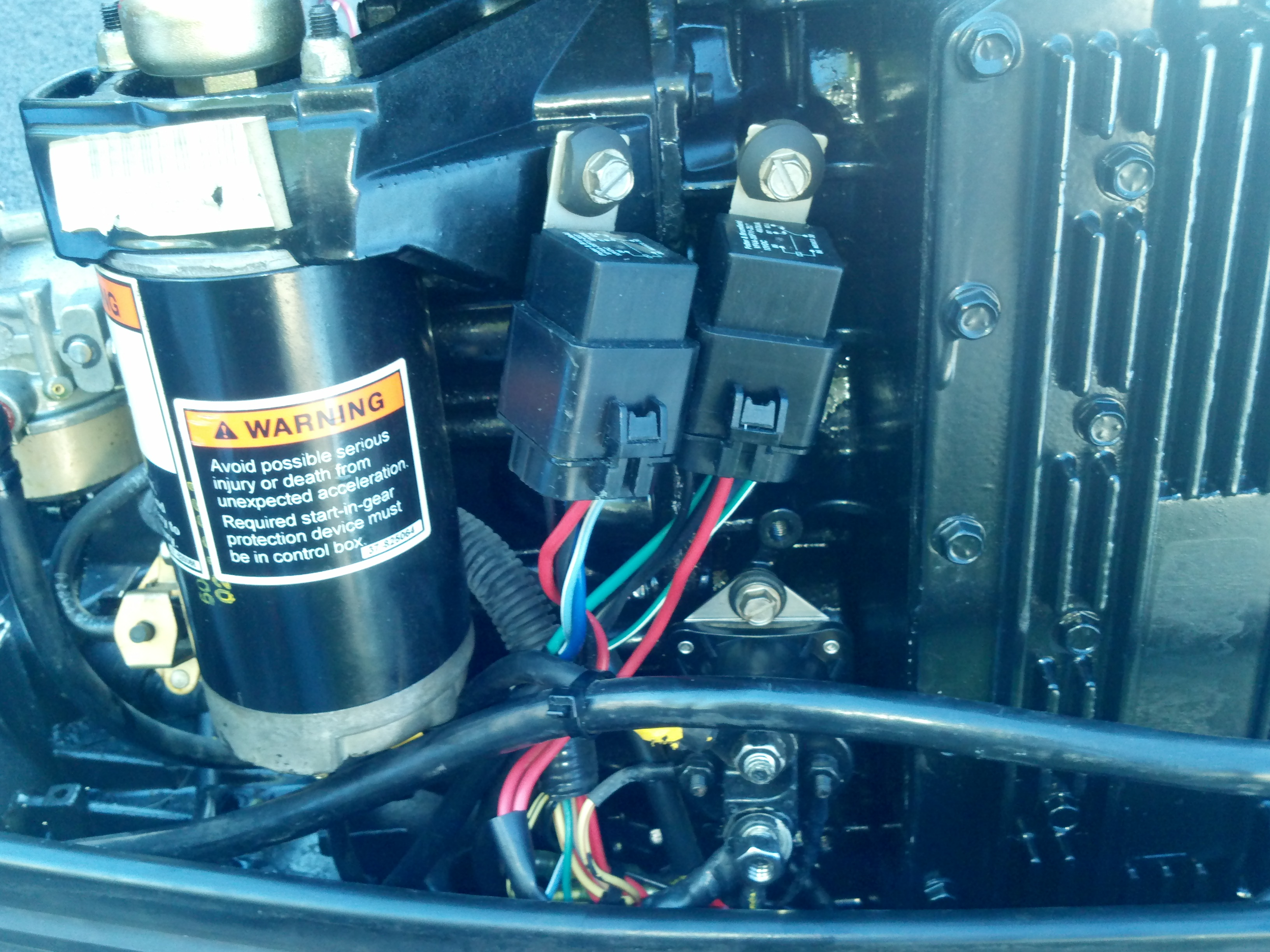 I have a 1996 Mercury Force 75 hp and it is blowing fuses. I took ...