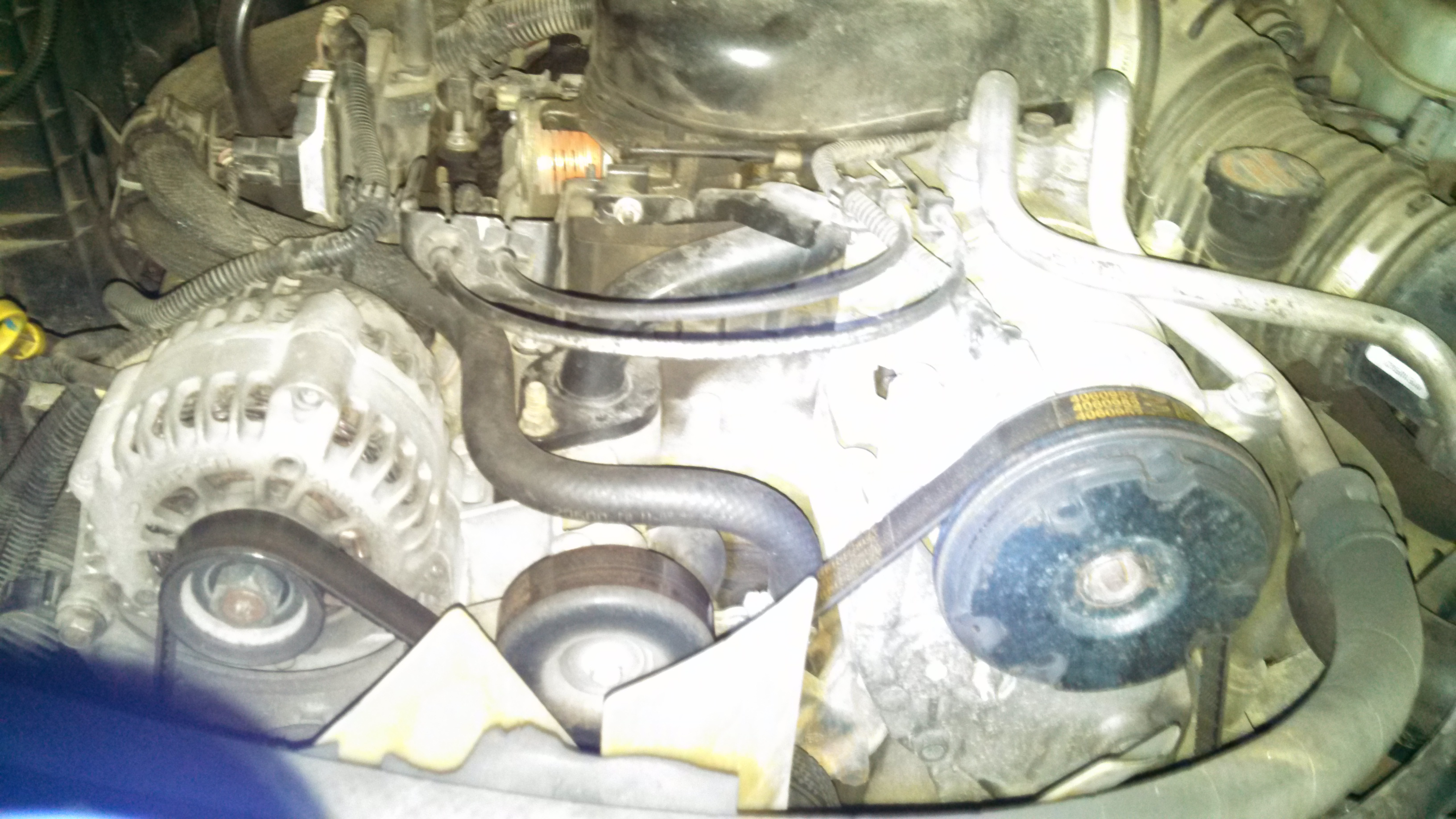 2003 chevy blazer without egr valve shows code po404