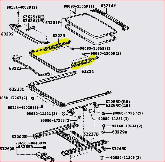2003 Camry Sunroof Wiring Diagram Diagrams Rh 49 Shareplm De 2000 Toyota: 2000 Camry Starter Wiring Diagram At Eklablog.co