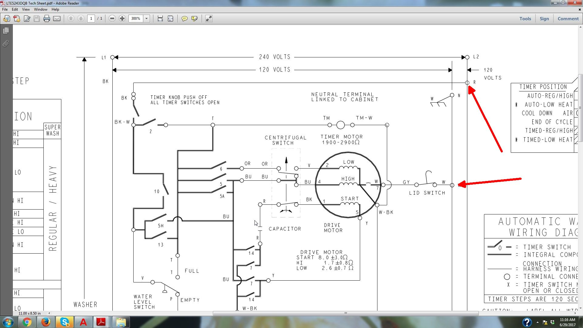 on a210 maytag washer wiring schematic