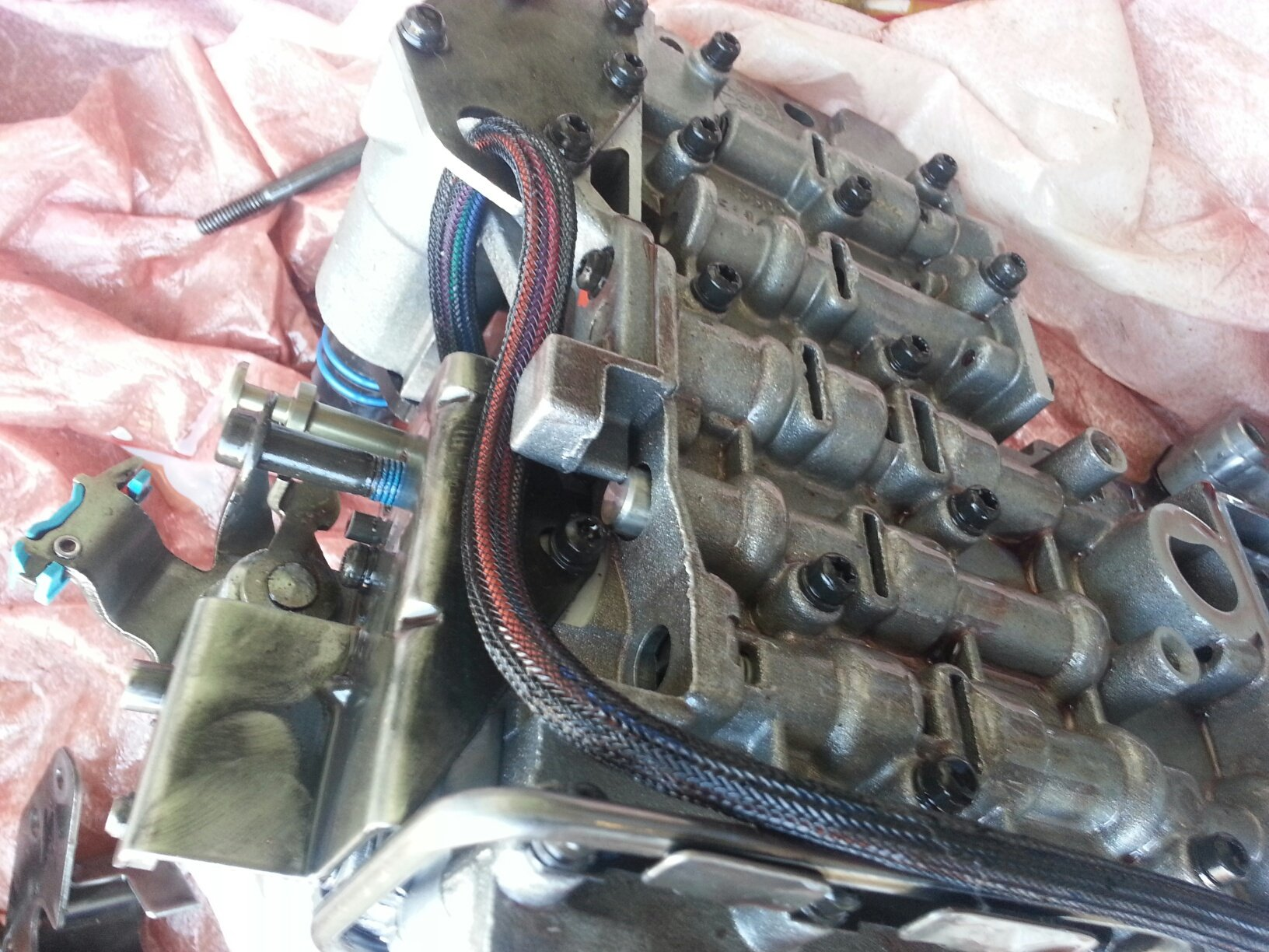 I remove the valve body from the 42RE transmission (2000