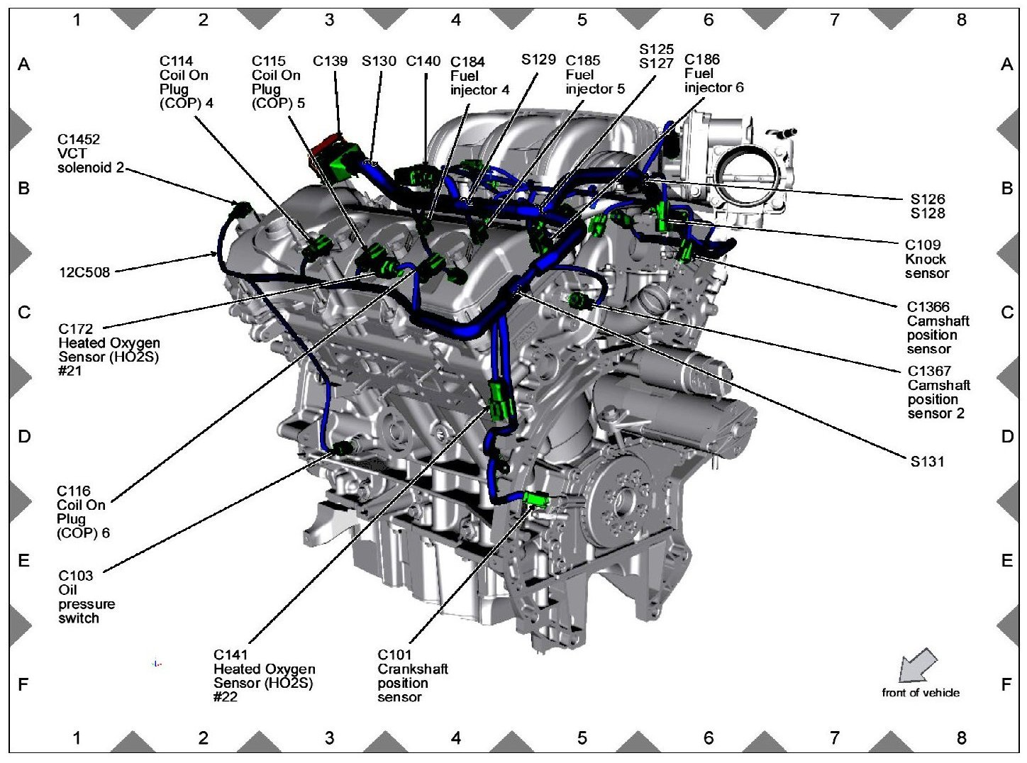 2001 Windstar Camshaft Position Sensor Location on 2002 Ford Windstar Fuse Box Diagram