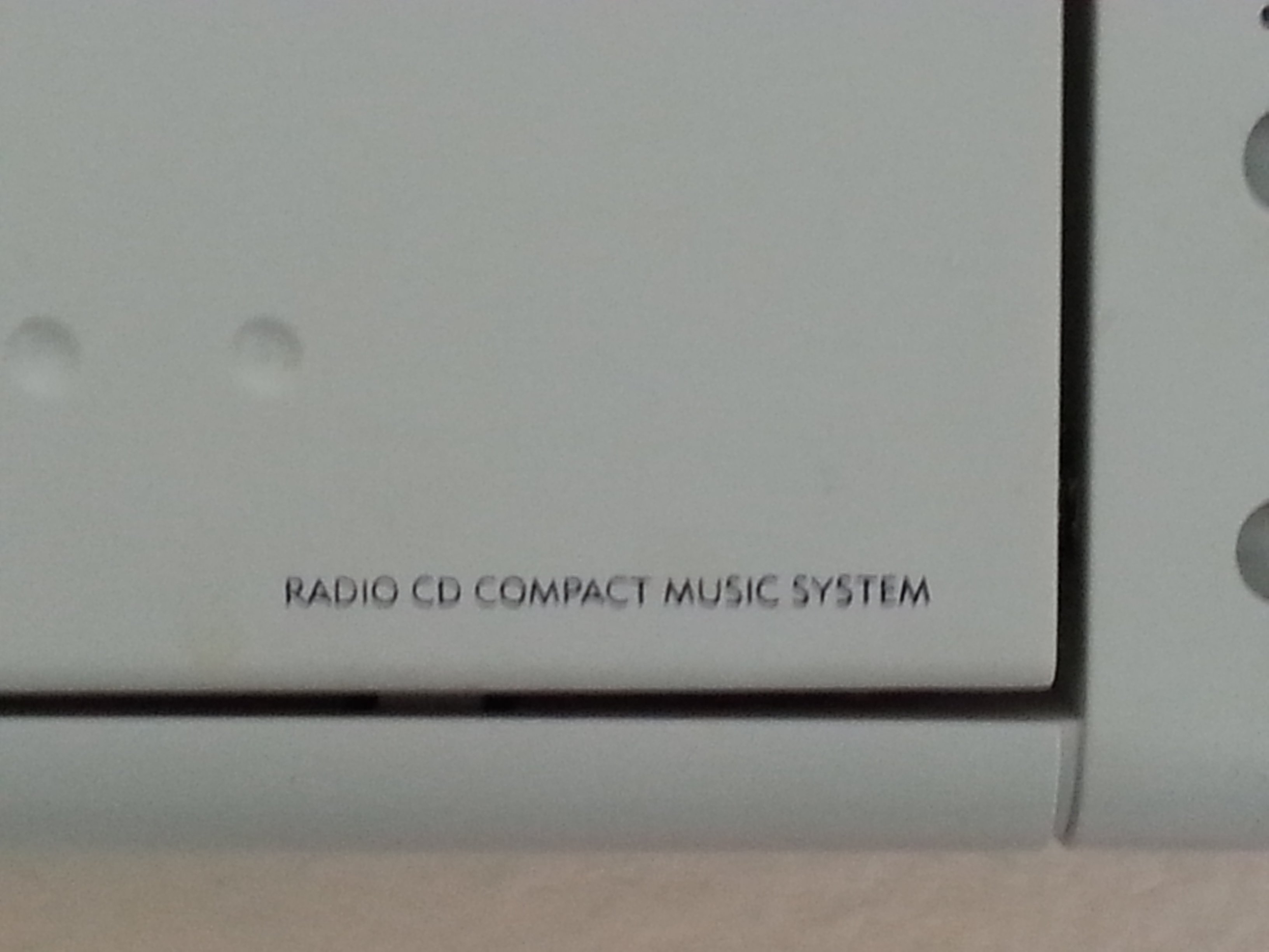 I Have The Memorex Am Fm Stereo Vertical Compact Wall