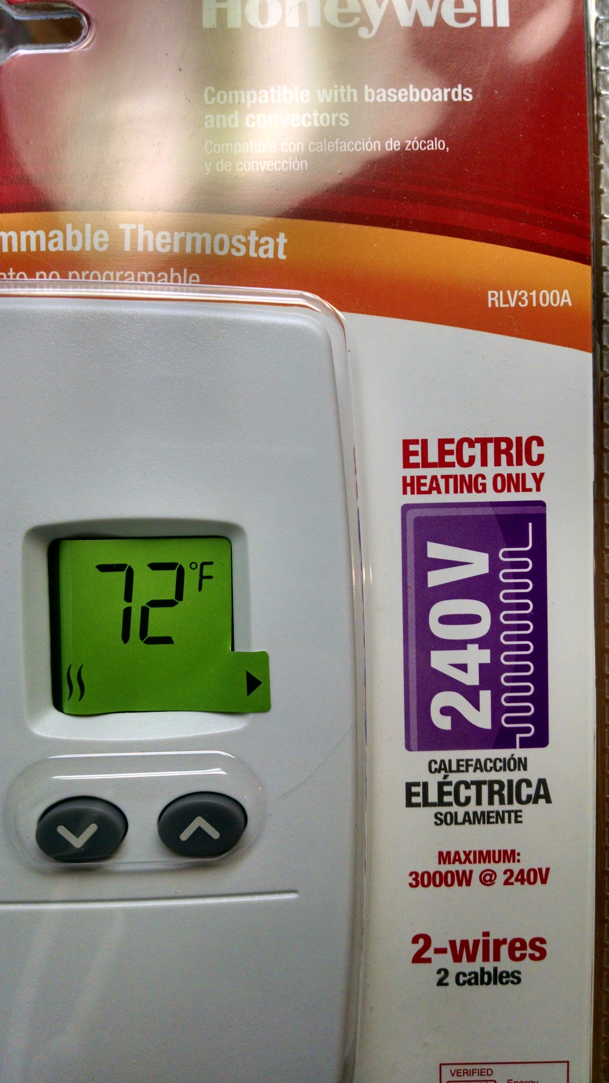 I Disconnect An Eaton Double Pole 4 Wire Dial Thermostat