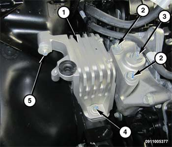 2015 Chrysler 200 New Radiator Coolant Reservoir Bottle Outlet Hose Mopar OEM