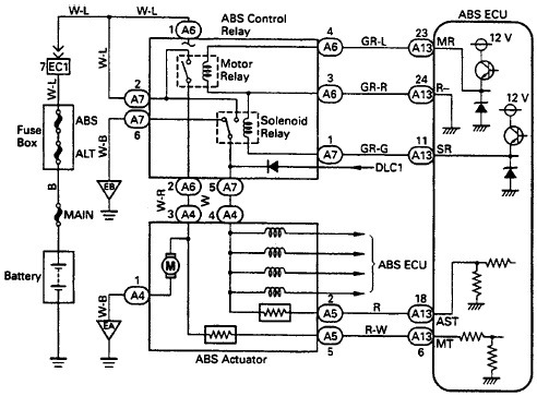 Ford Abs System Wiring Diagram | Wiring Schematic Diagram Electrical Wiring Diagram Ford Ranger Abs on