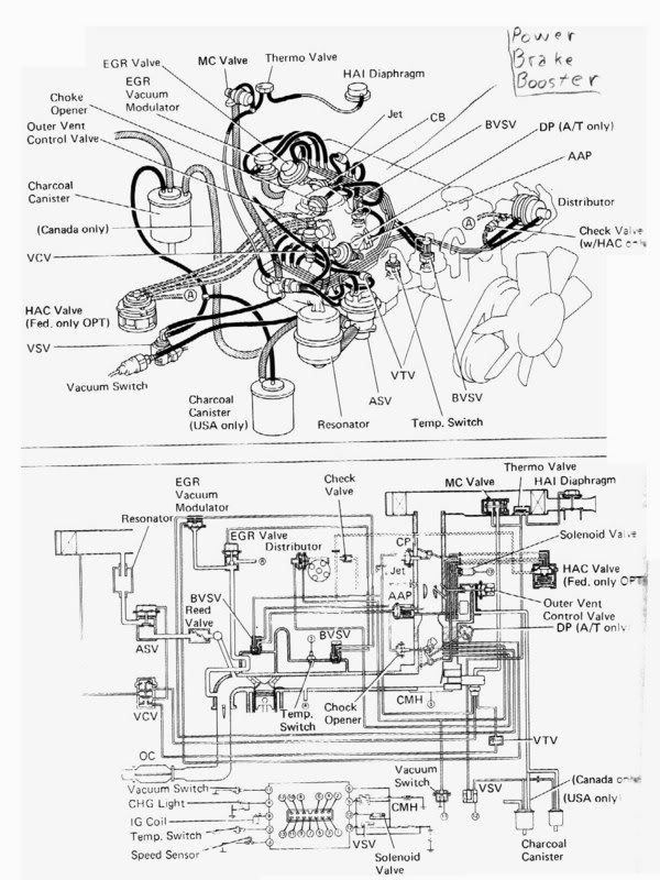 1986 Toyota Pickup Fuel Filter