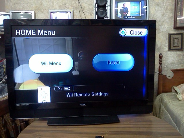 I have a vizio VW46LFHDTV10A  Right half of the screen is
