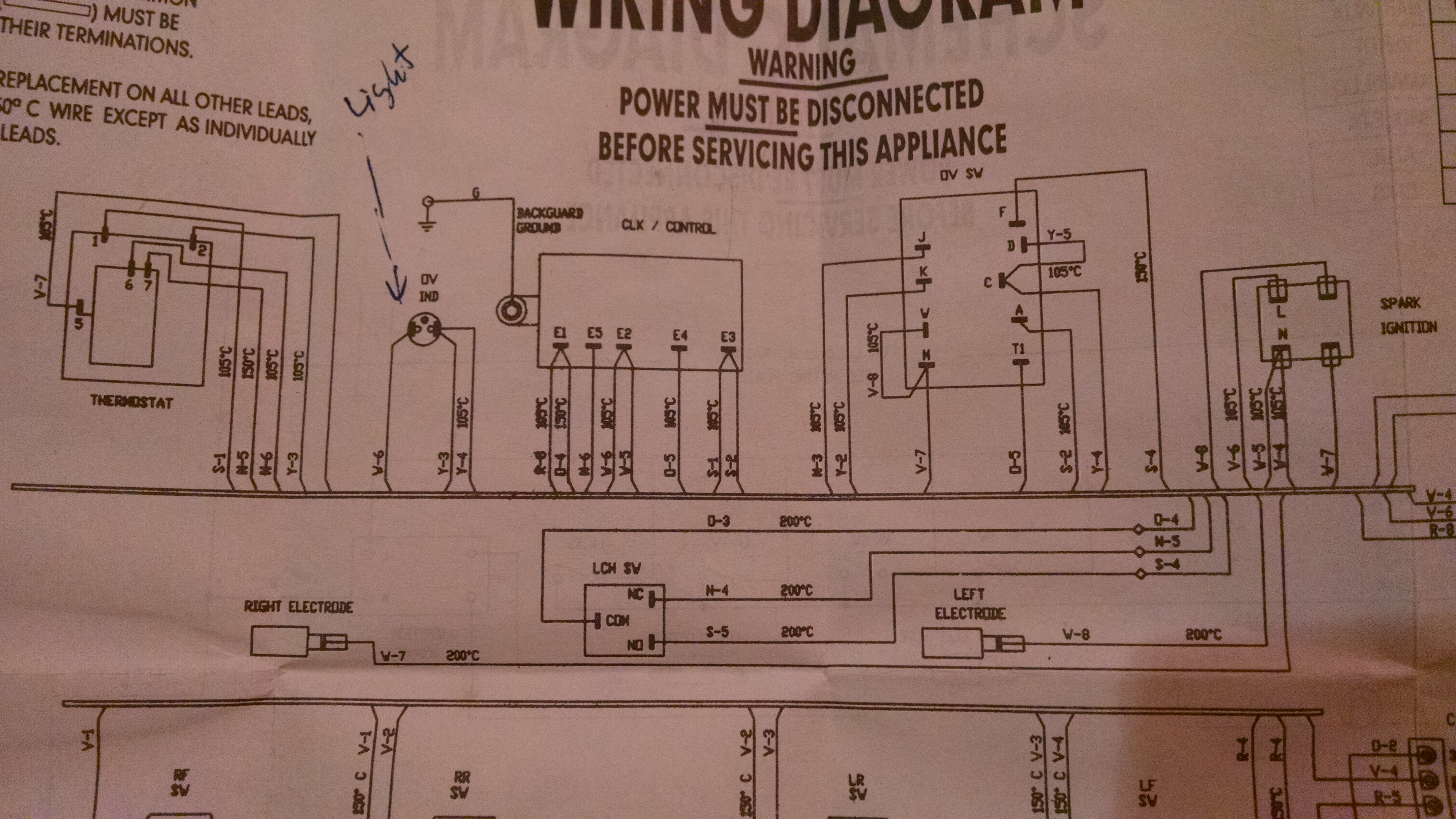 My GE XL44 gas stove is tripping the breaker. If I have it plugged in and  flip the breaker to on, the breaker makes a | Ge Xl44 Oven Wiring Diagram |  | JustAnswer