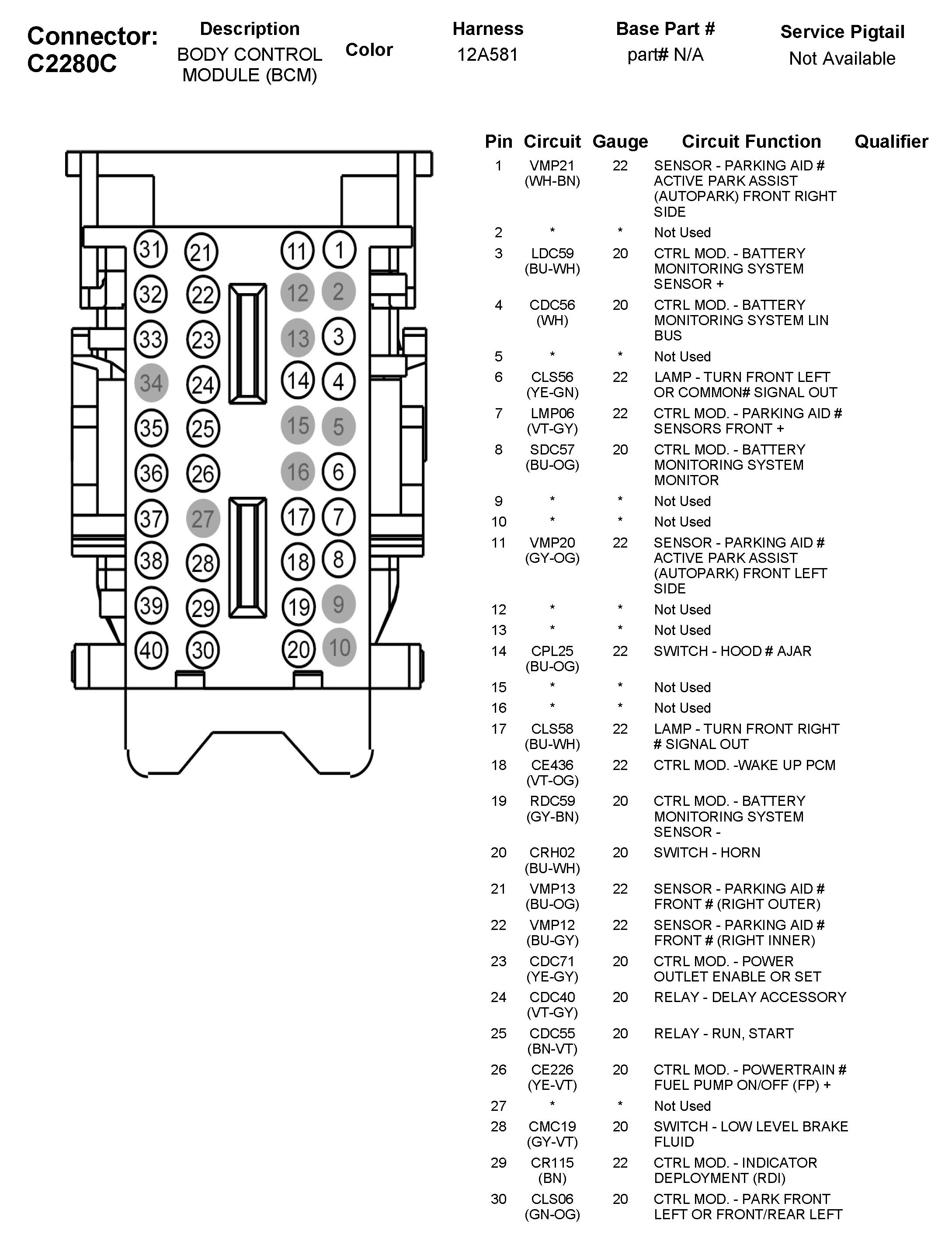 2013 Ford Fusion Fuse Box Diagram 2007 2014 Im Looking For Bcm Dash 2006
