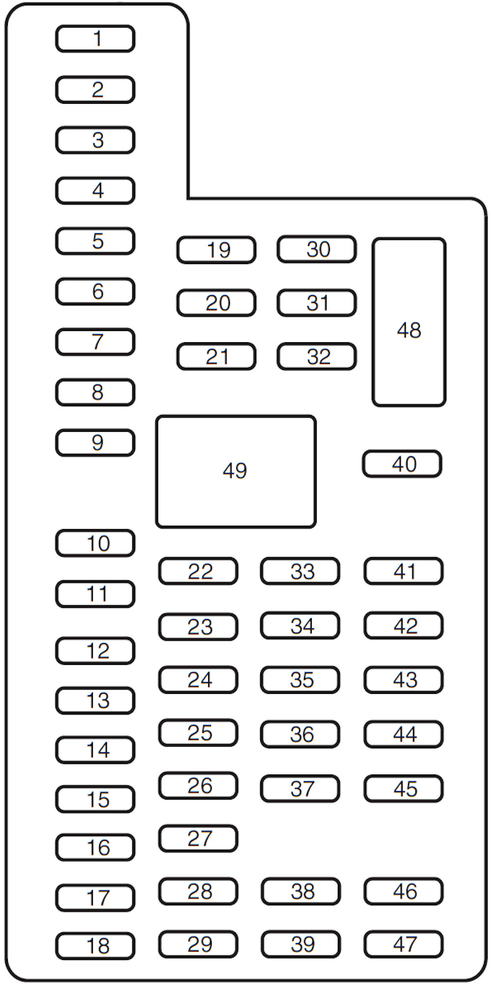 2012 Ford F150 Fuse Box Diagram Under Hood Electrical Platinum House Wiring Symbols U2022 2008
