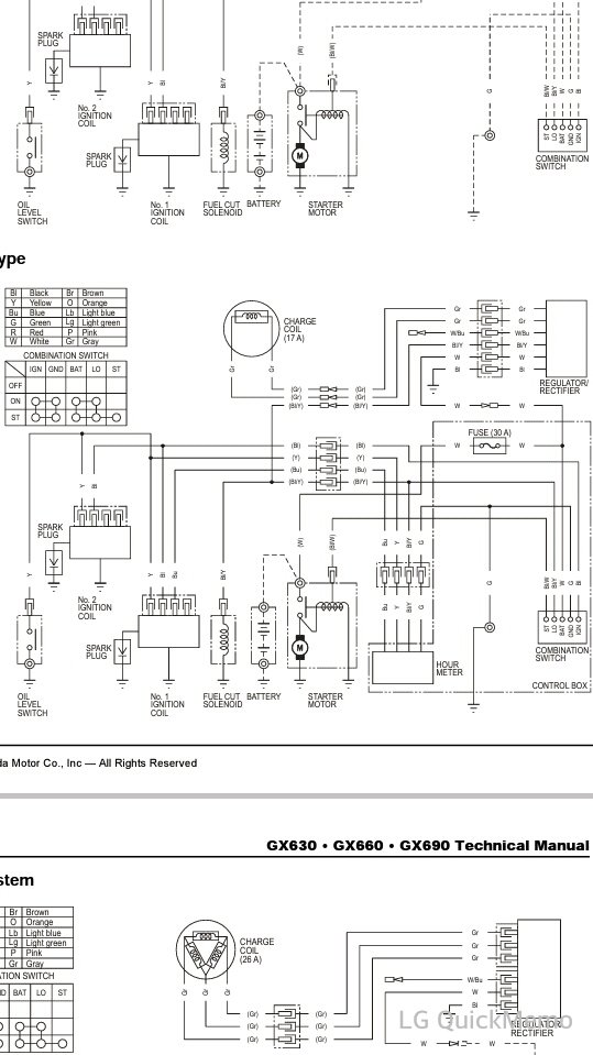 Honda Gx390 Rectifier Wiring Diagram