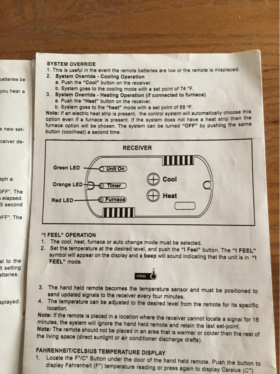 Do You Have A Wiring Diagram For A Dometic Thermostat
