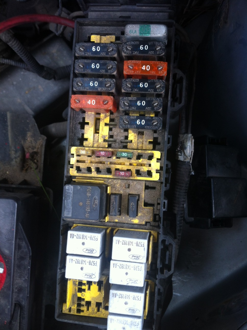 1998 Ford Windstar Fuse Box Diagram