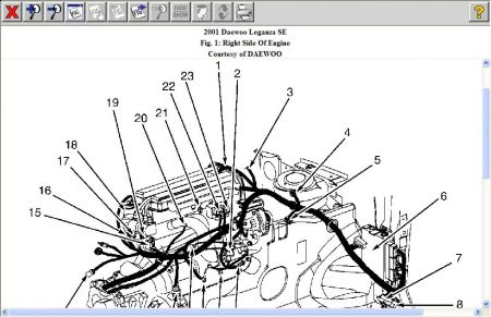 [SCHEMATICS_4LK]  Where is the crank sensor located on a 2001 dae woo lezarga 4 cyl | Lanos Engine Diagram Camshaft Position Sensor |  | JustAnswer