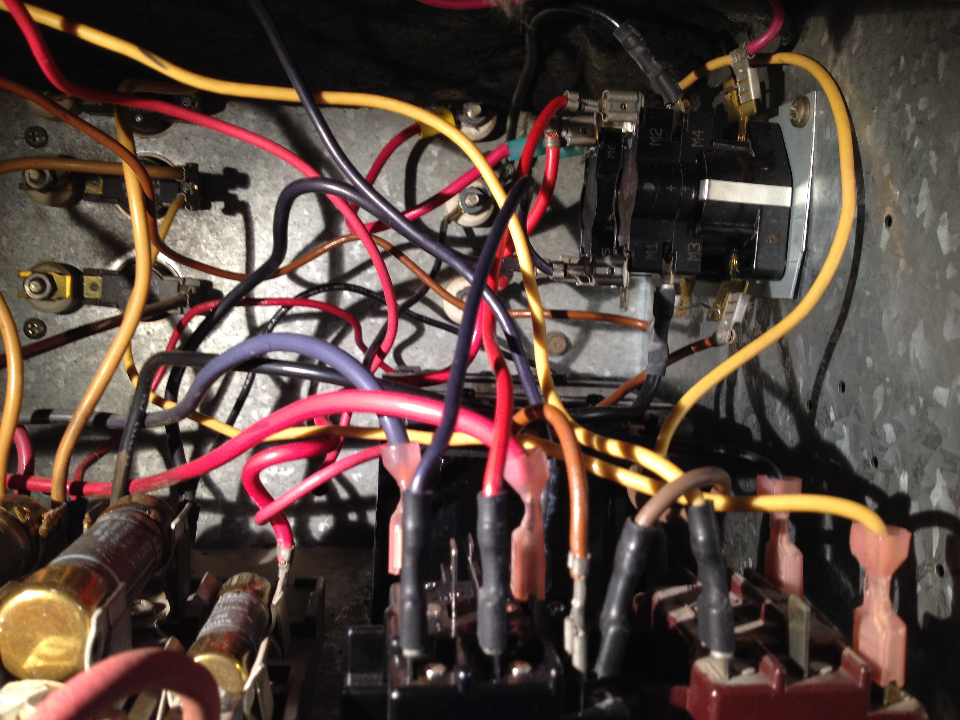 Have Carrier Electric Furnace Fixed Some Parts Now Cant Get The Fan Relay Cost Img 3286