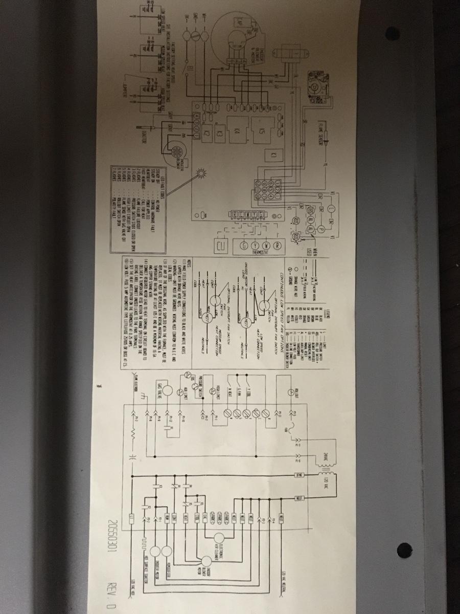 Ducane furnace model no. MPGA075B3B led fault code flashes 4 times on