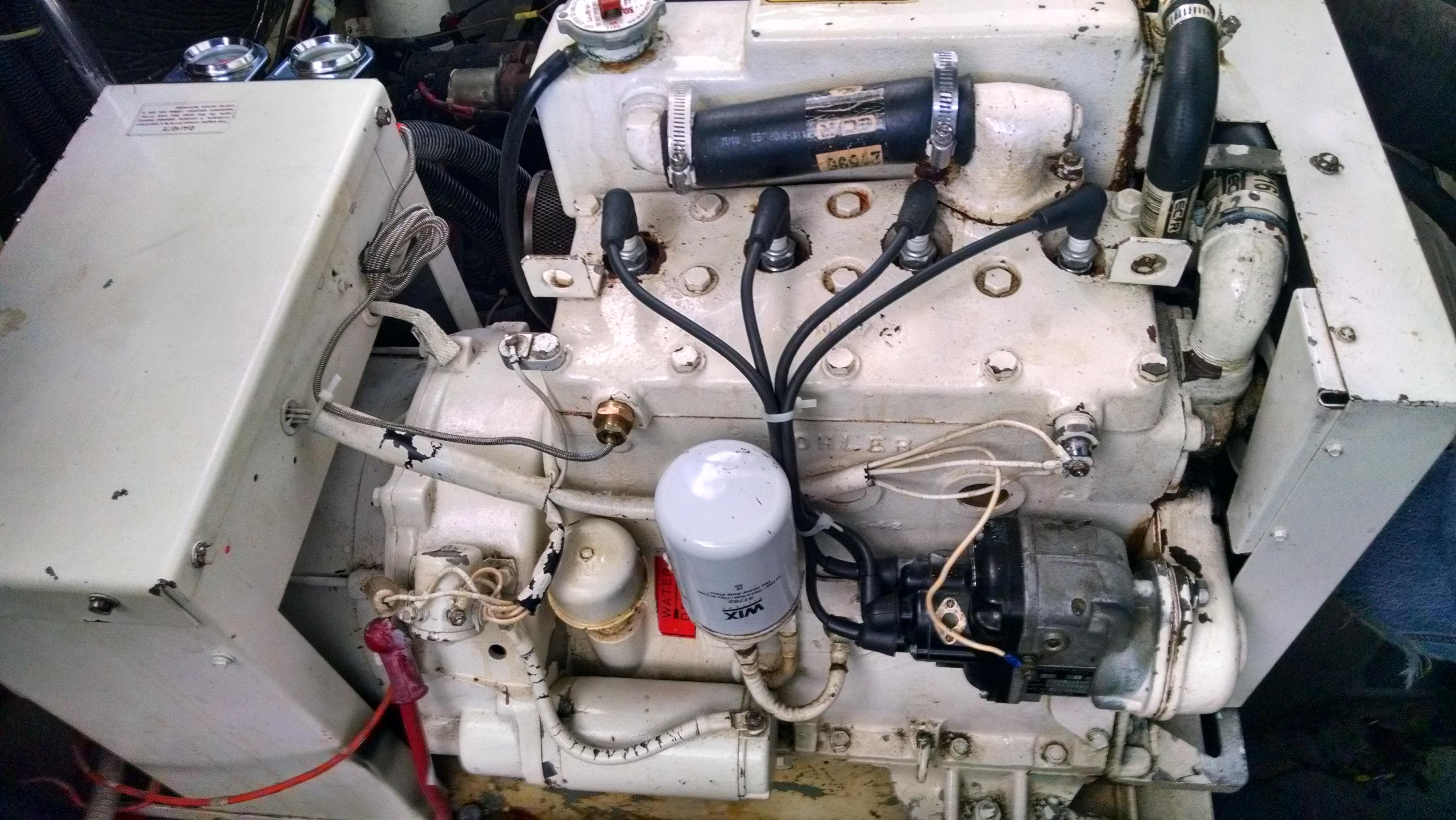 Kohler 7.5 KW gas marine generator won\'t start
