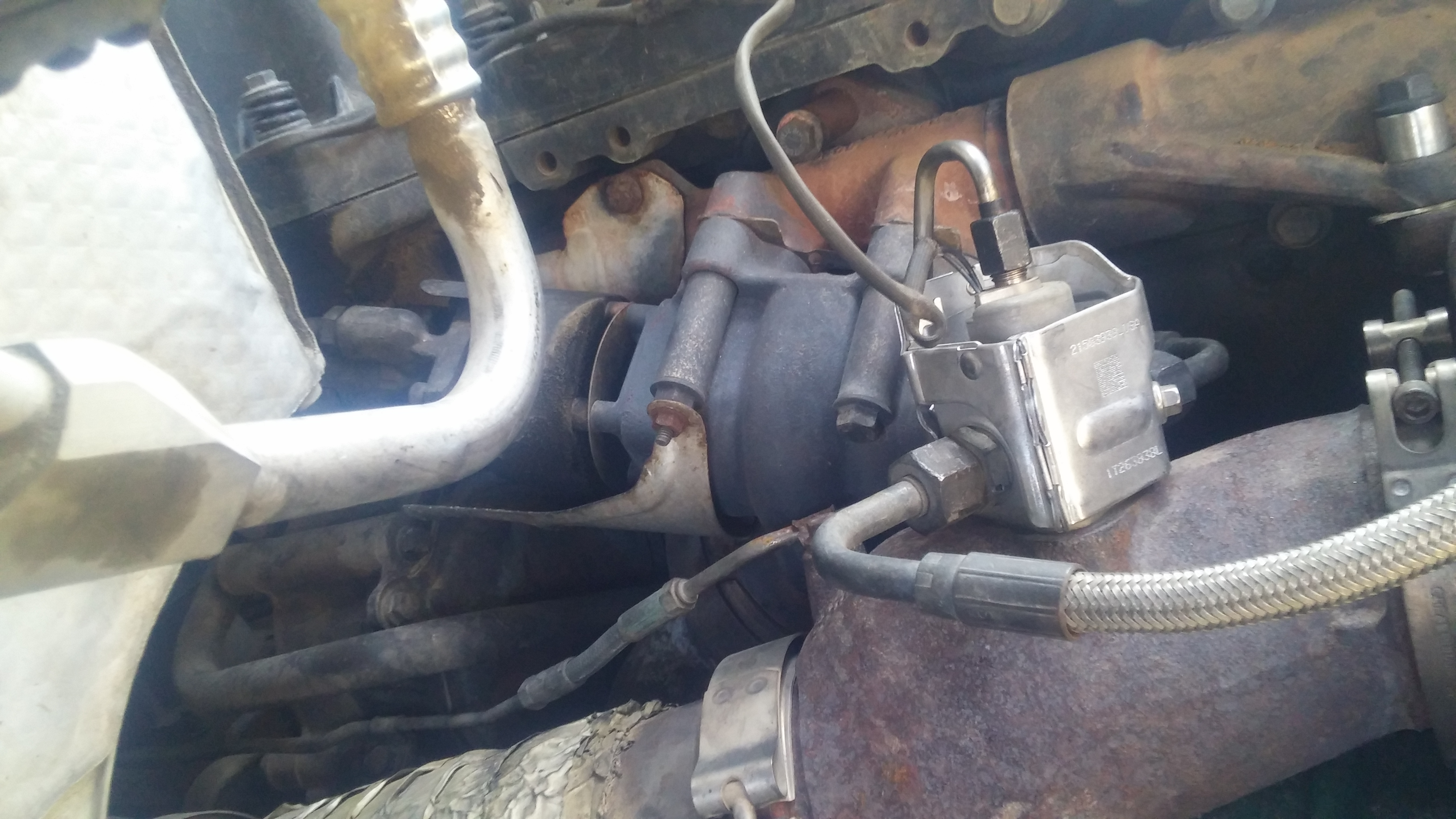 I have a Volvo 2009 with a D13 Volvo engine  And it has giving a lot