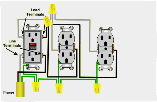 I Need To Install Two Gfci Outlets To Two Separate Boxes  But Am At A Loss As To How To Connect