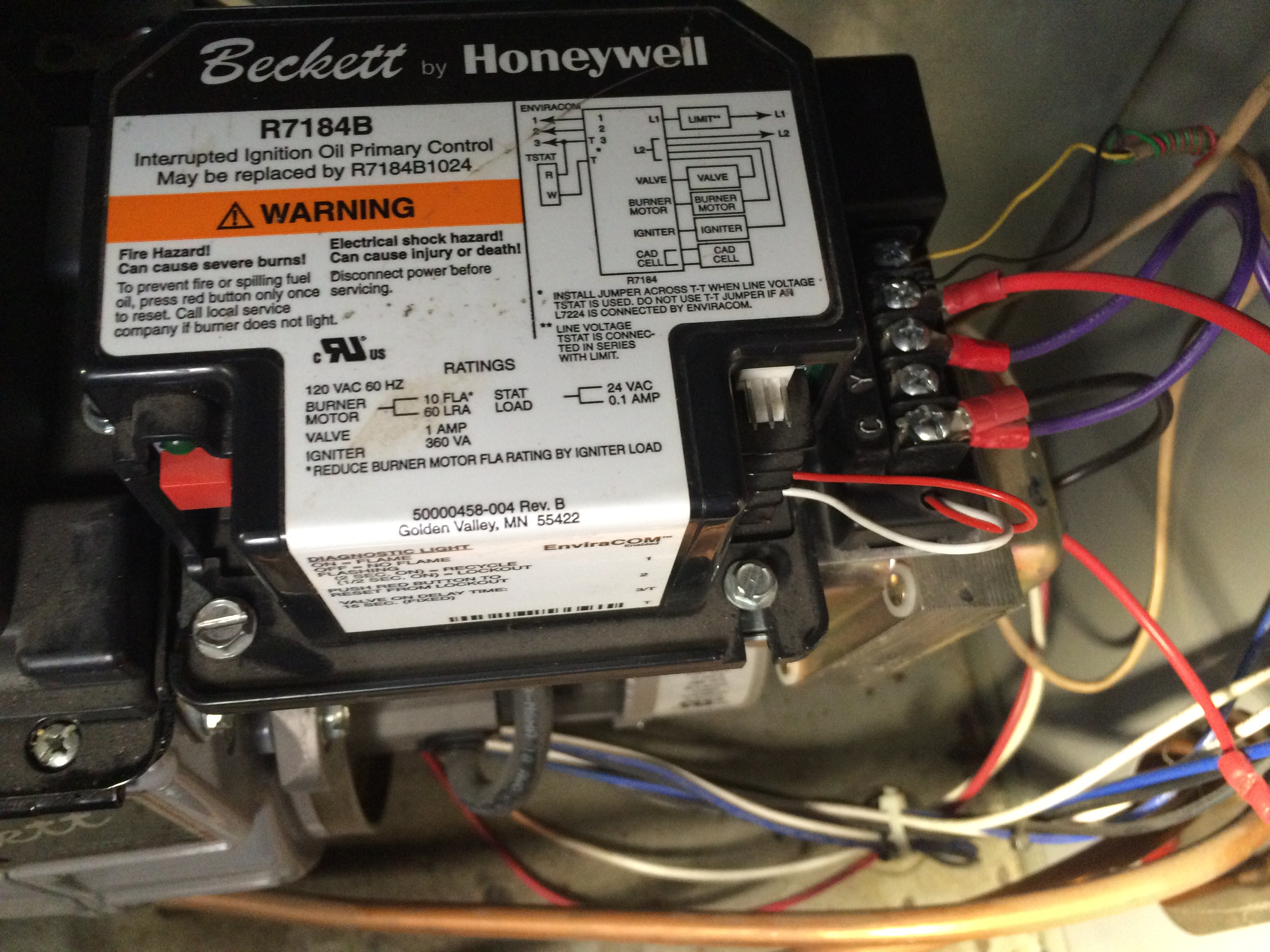 34 Beckett Oil Burner Wiring Diagram