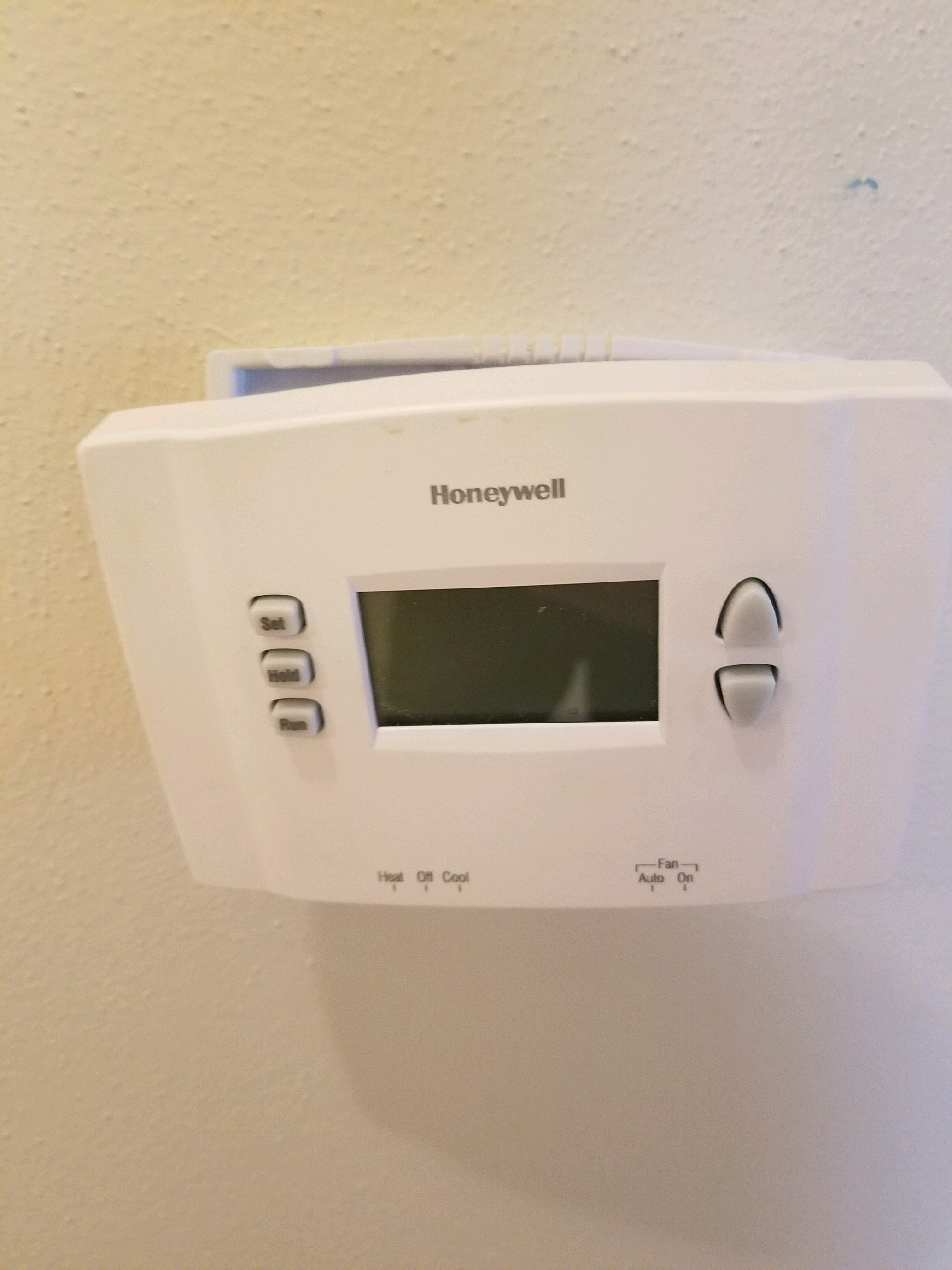 I Am Trying To Replace The Batteries On My Honeywell