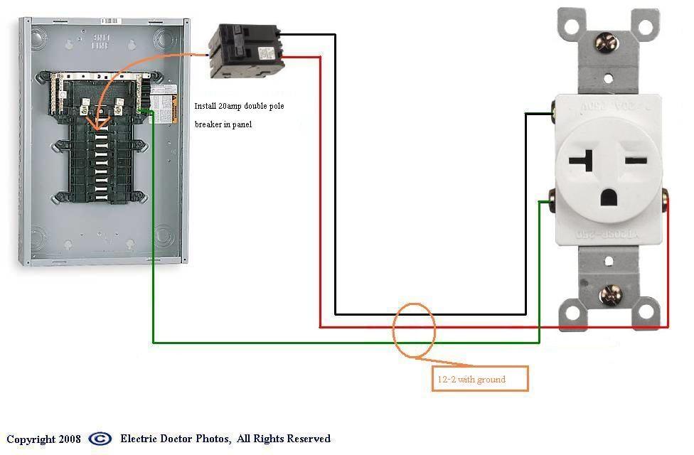 220v 20 Amp Plug Wiring - Wiring Solutions