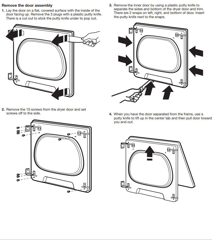 I Have A Maytag Dryer With A 4 Manual Guide