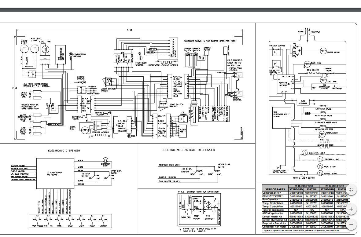 Kenmore 106 56532400 Ice Maker Wiring Diagram. Kenmore Model ... on