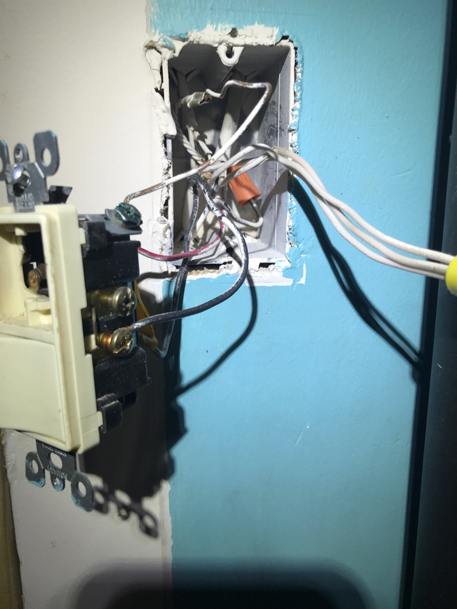 I Am Changing Light Switches One Is Staying The Same And Other Wiring A Replacement Switch Image0