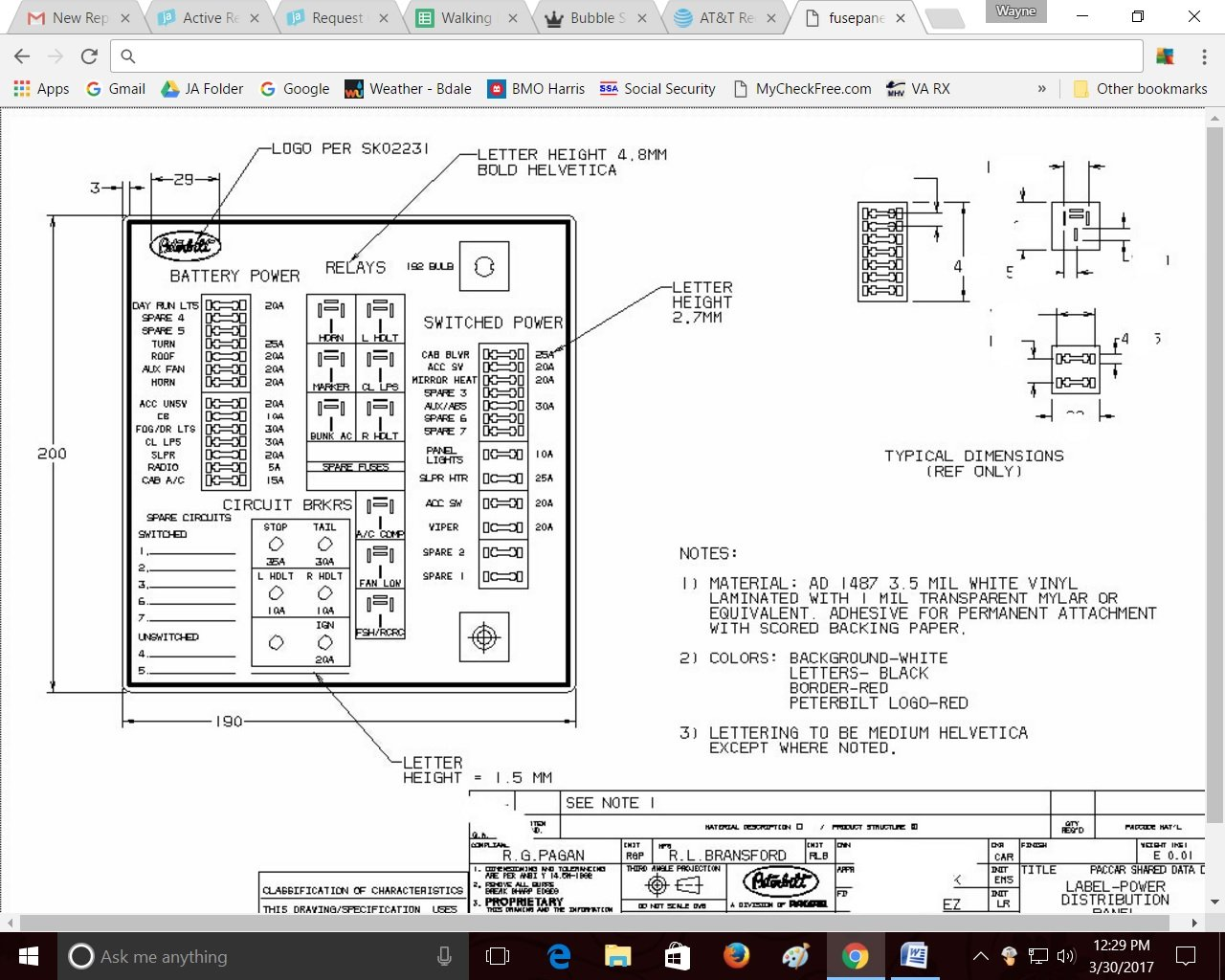 94 Kenworth T600 Fuse Box - Wiring Diagram Networks