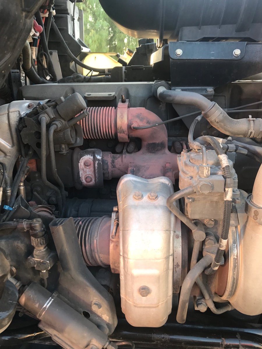 Another Paccar MX engine having regen problems replaced dozer and