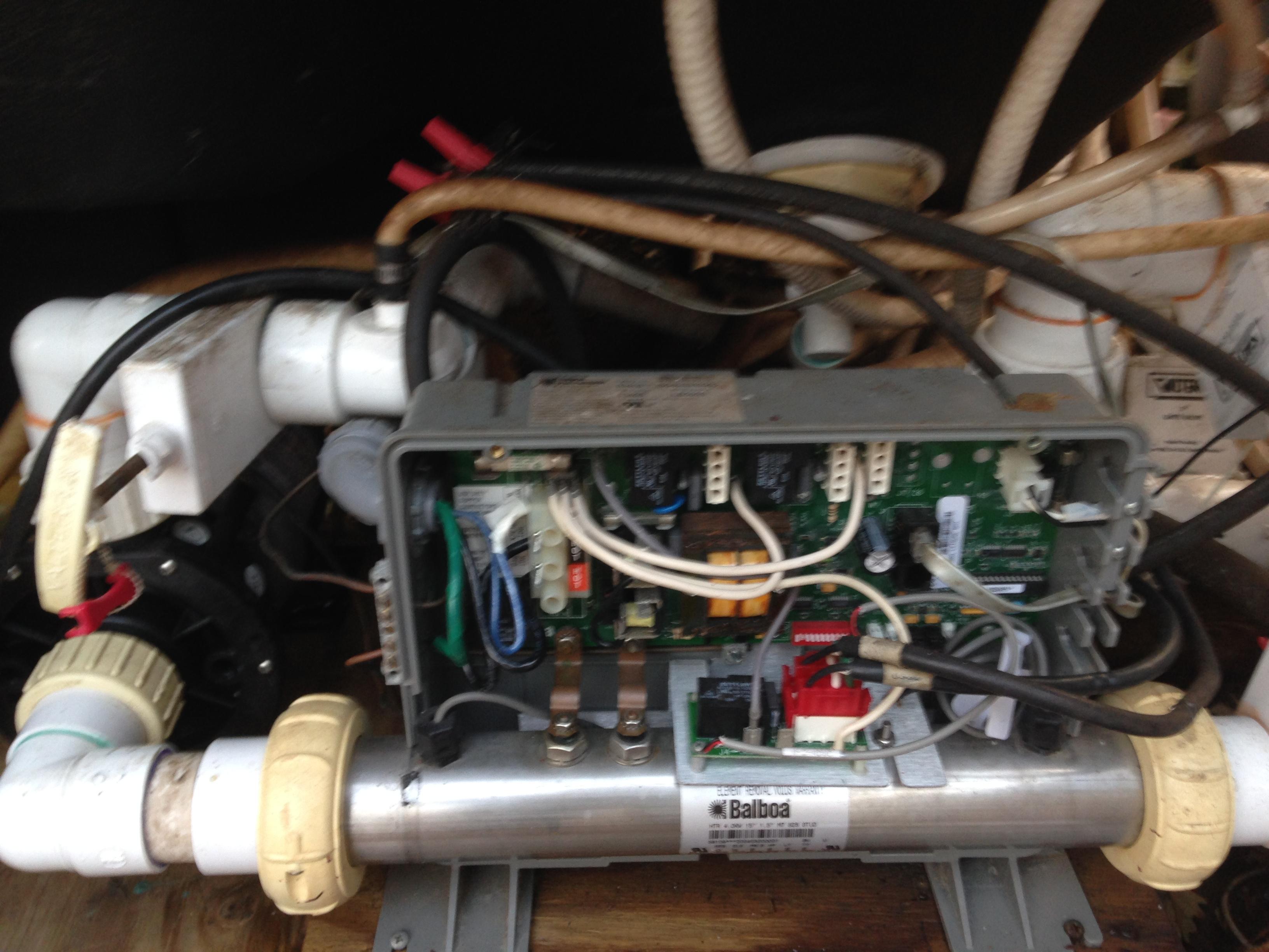 Have a leasure bay hot tub with balboa controls pumps where ... Balboa Spa Wiring Diagram on