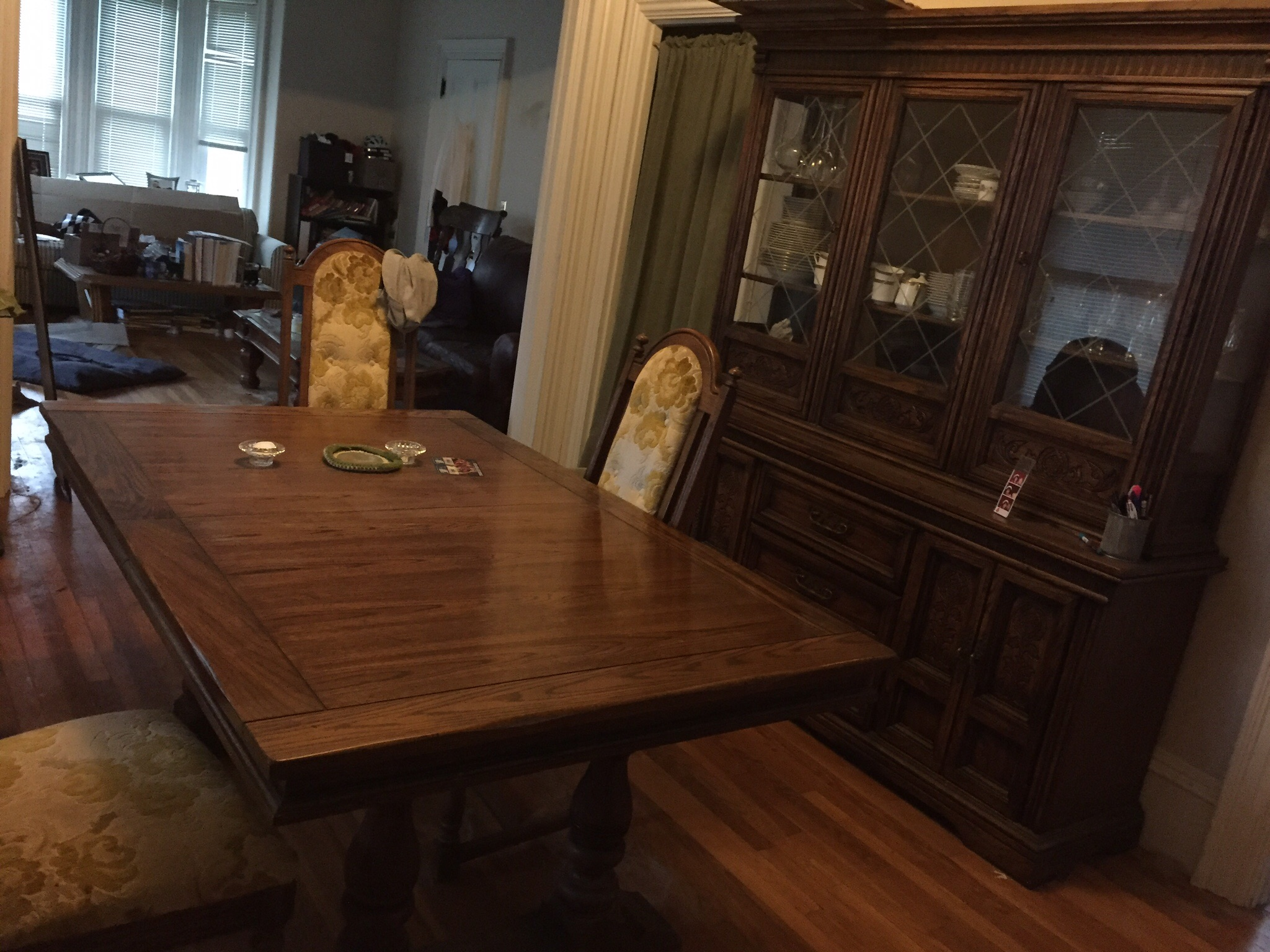 I Have A Large Solid Oak Burlington House Dining Room Set