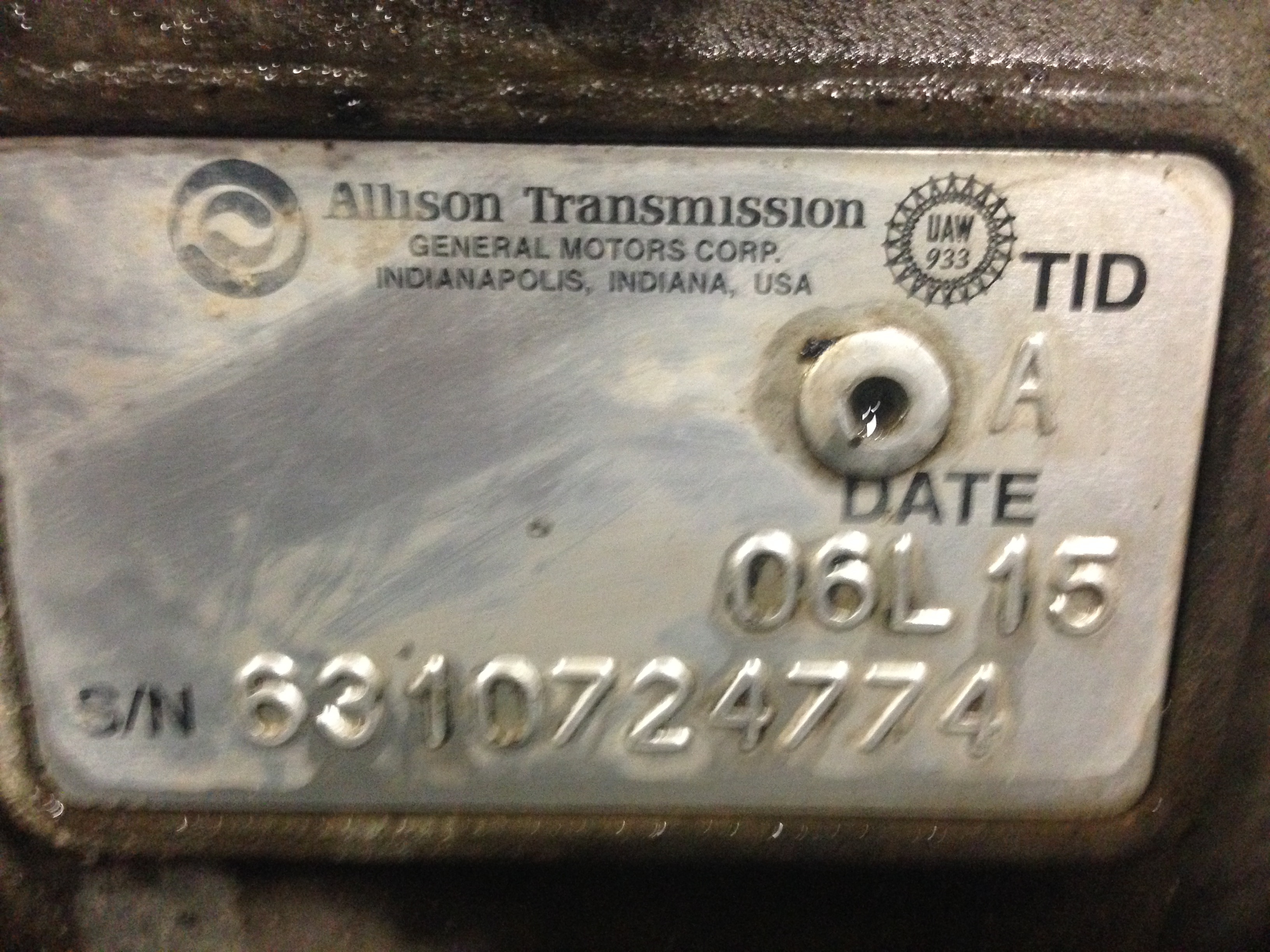Allison Transmission Vehicle Interface Module