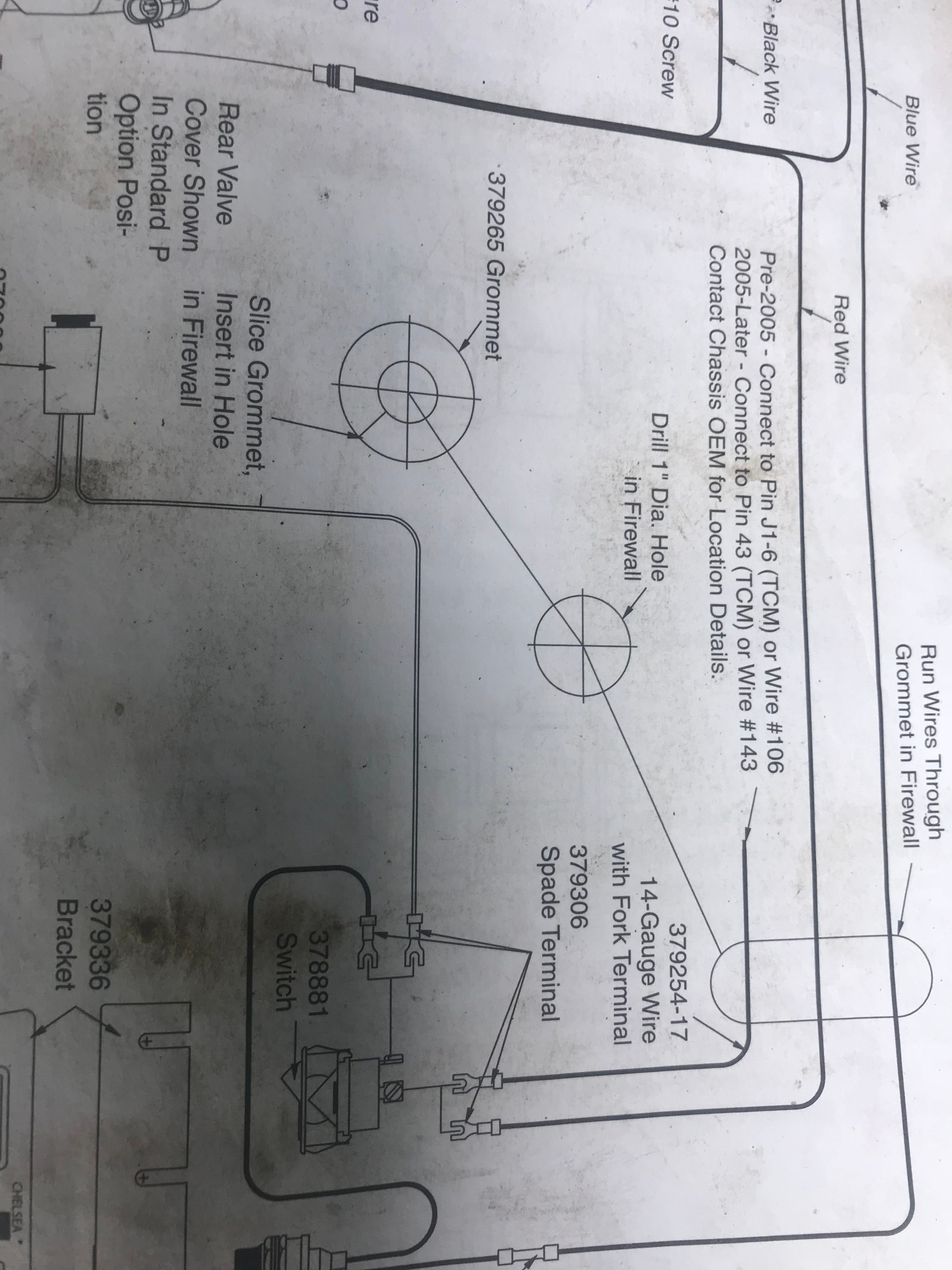 I need to onnect a wire to the transmission ecu for my new ... F Wiring Diagram Muncie Pto on