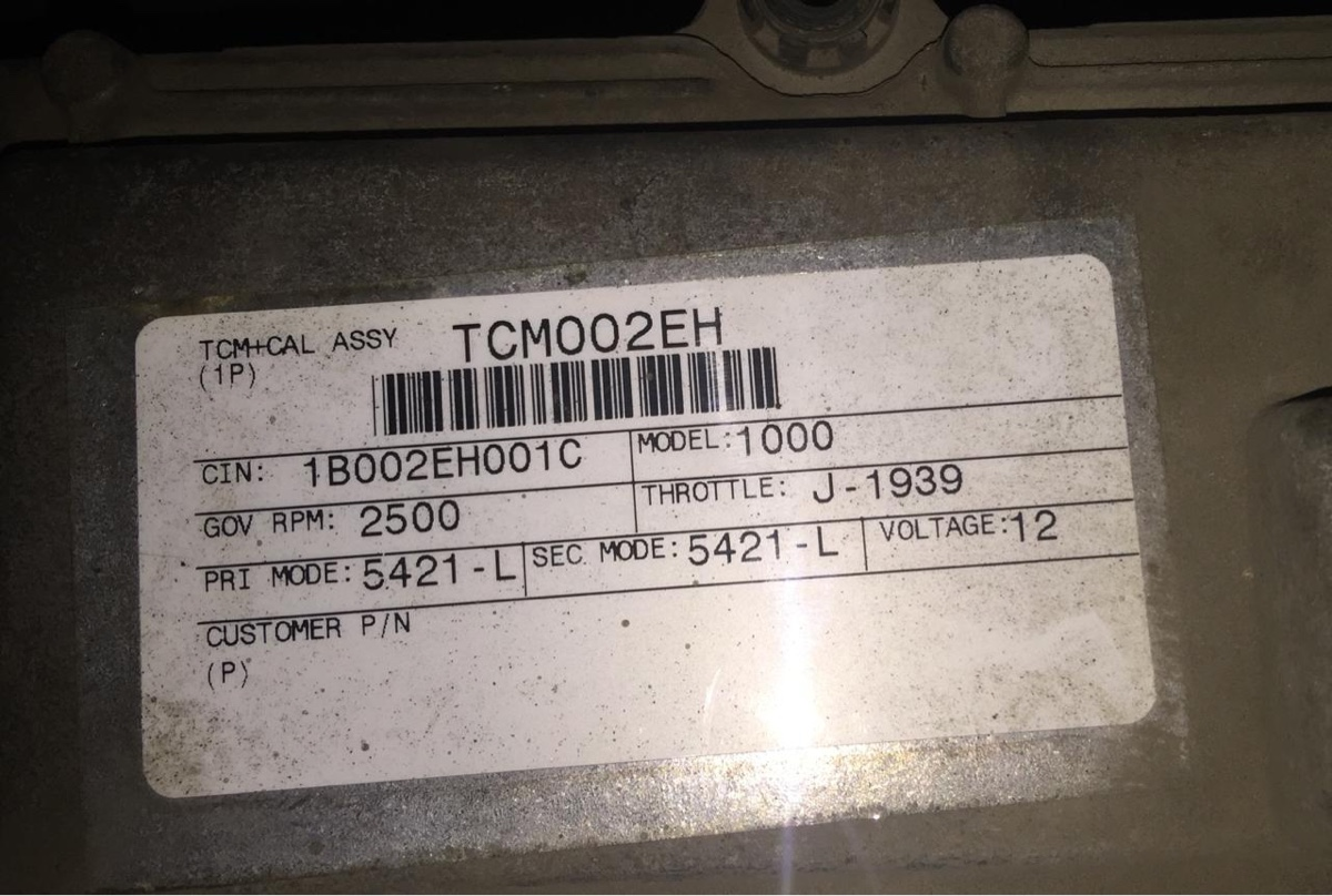 I Need A Tcm Pin Out  Ford F650 2005  5 4 L Cummings  I