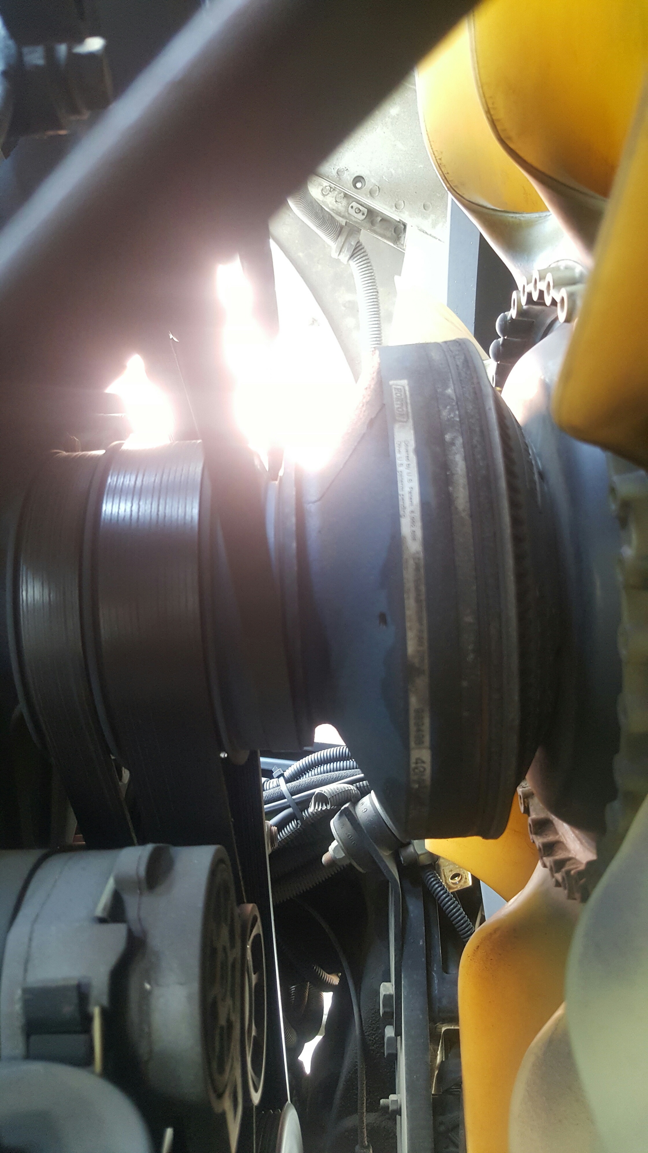 07 Mack MR688P trying to diagnose air operated radiator fan clutch