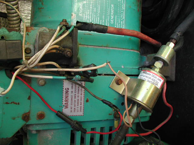 I Have A 77 Champion Rv That Has An Onan Genset  40 Bf 3cr 16002b  Seems When Replacing Electric